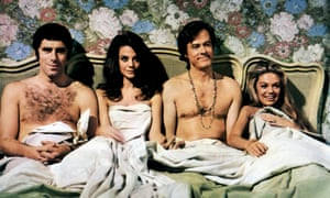 Gould, Natalie Wood, Robert Culp and Dyan Cannon in Bob & Carol & Ted & Alice. Photograph: Allstar/Columbia Pictures