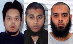Mohibur Rahman, Khobaib Hussain and Naweed Ali deny preparing terrorist acts.