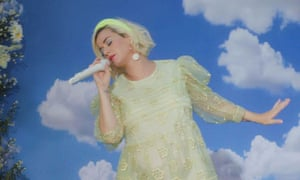 Katy Perry performing her new single Daisies on US TV in May