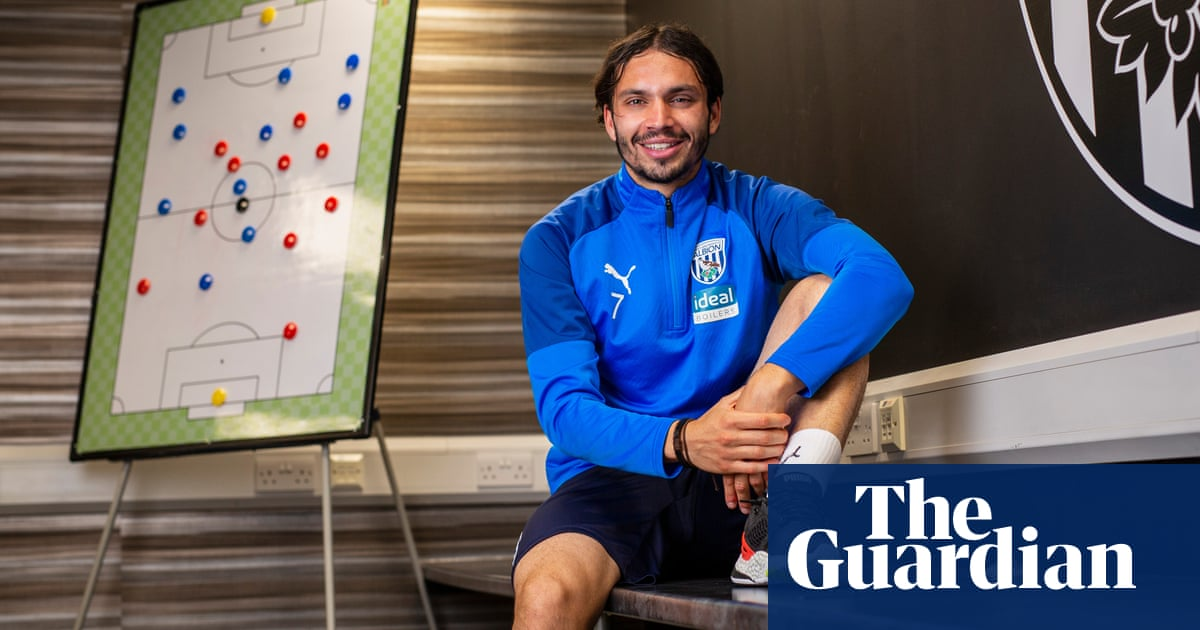 West Brom's Filip Krovinovic: 'I like to steal things from how Modric plays'   Ben Fisher