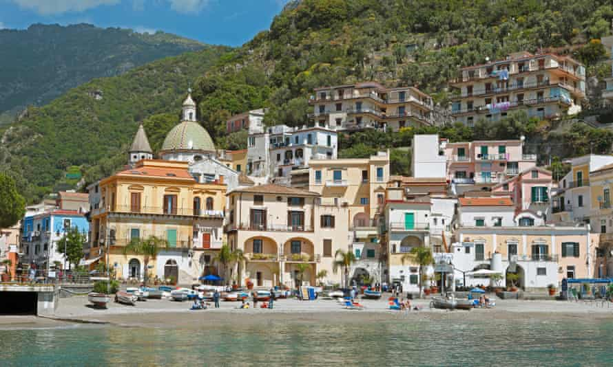Cetara, Amalfi Coast, Italy.