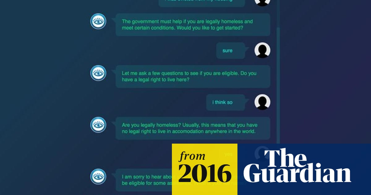 Creator of chatbot that beat 160,000 parking fines now tackling