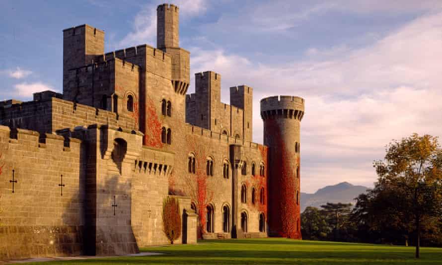 Penrhyn Castle, in north Wales
