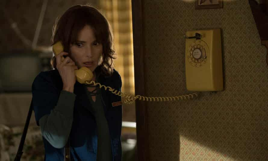 The former Heather herself … Winona Ryder plays Joyce, who talks to her missing son through the light fittings.