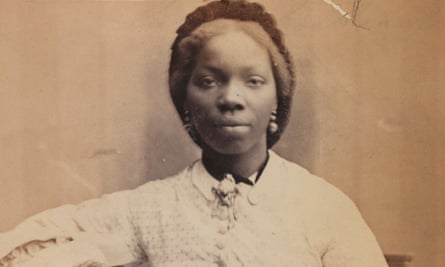 This 1862 photograph by Camille Silvy in the National Portrait Gallery was used by the artist Hannah Uzor as inspiration for her new portrait of Sarah Forbes Bonetta.