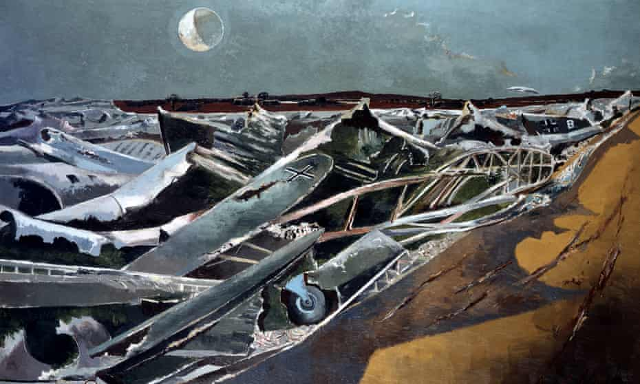 Totes Meer by Paul Nash.
