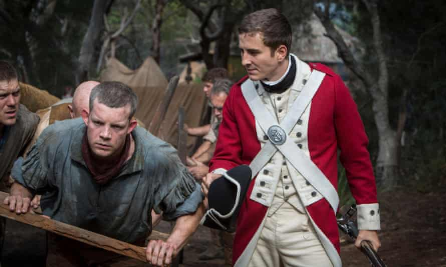 Russell Tovey and Ryan Corr in BBC series Banished, now showing on Foxtel's BBC First