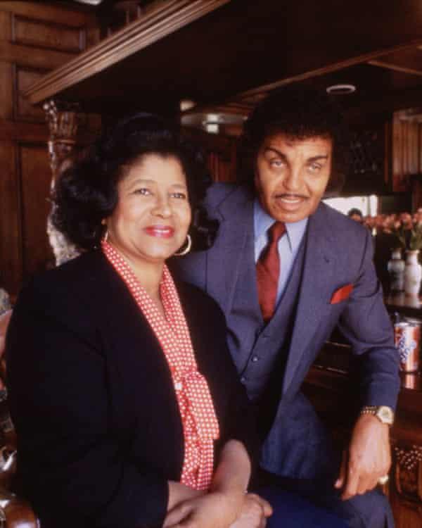 Katherine and Joe Jackson, 1984