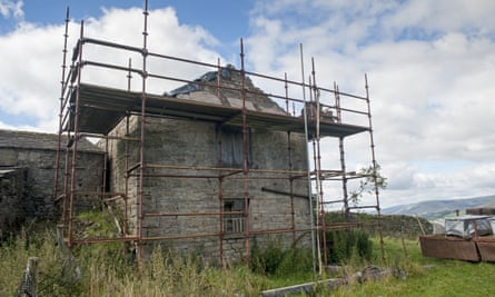 The number of agriculture-to-residential property conversions in England fell by a quarter over the past year.