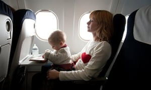 baby mother plane