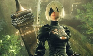 In Nier: Automata, a war between humans and aliens is fought entirely by proxy robots, including the very human-like android, 2-B.