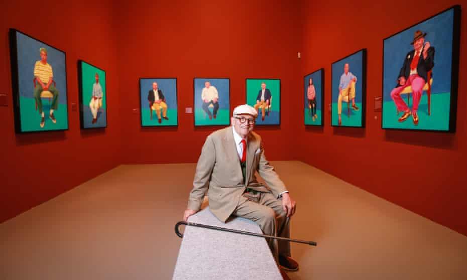 David Hockney in Melbourne