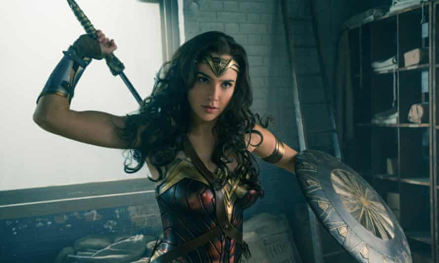 Tear-jerker … Gal Gadot as Wonder Woman.