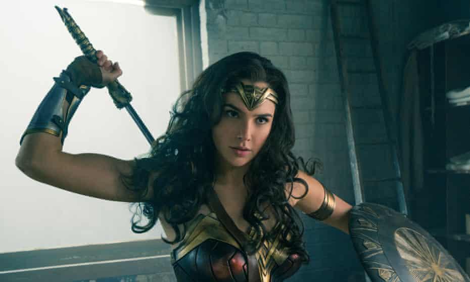 Groundbreaking … Gal Gadot as Wonder Woman.