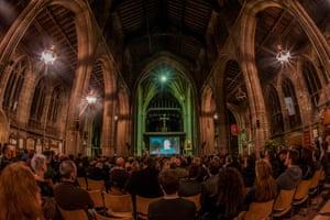 The Mayhem Festival at St Mary's Church, Nottingham