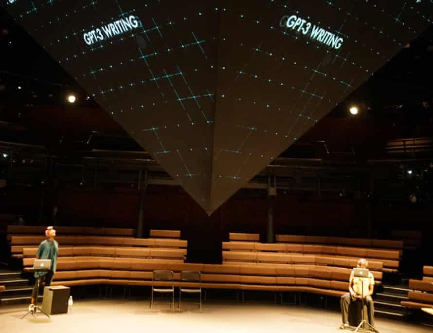 Machine dreams ... AI, Young Vic Theatre, 2021.