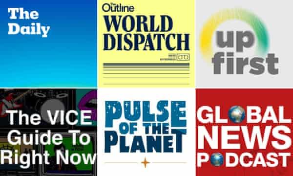 News podacst logos