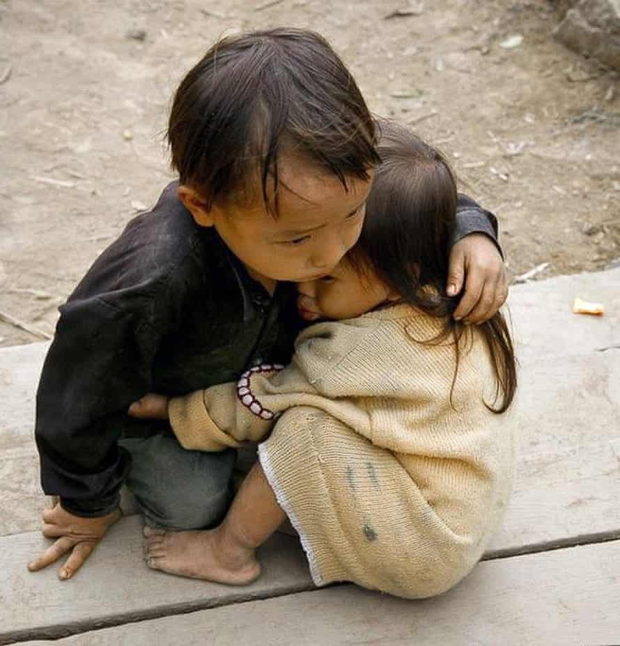 A Vietnamese brother and sister