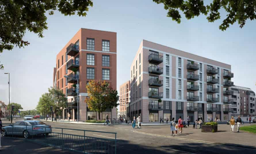 An artist's impression of how the Retirement Villages Group apartments in West Byfleet will look.