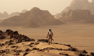Red planet … Matt Damon in The Martian.