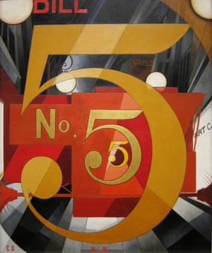 I Saw the Figure 5 in Gold, 1928, by Charles Demuth.
