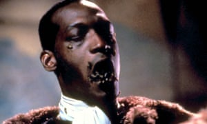Counting the psychic cost of centuries of oppression of African Americans … Todd in the original Candyman.