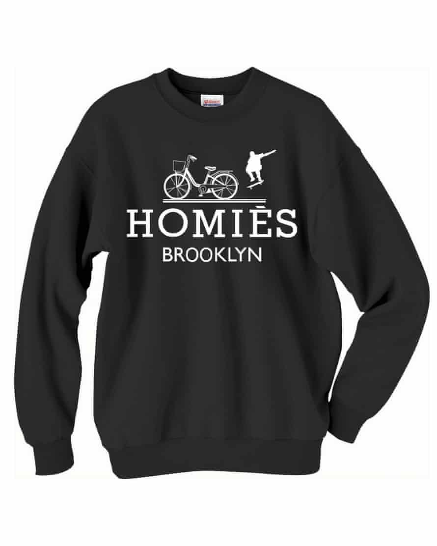 The Brian Lichtenberg Homies sweatshirt, this time transplanted to Brooklyn.