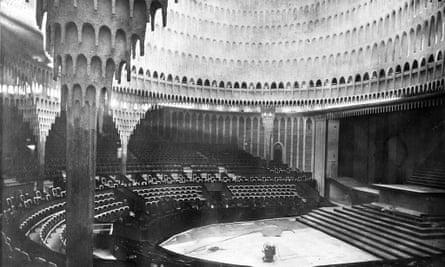The now-demolished Grosses Schauspielhaus, Berlin.