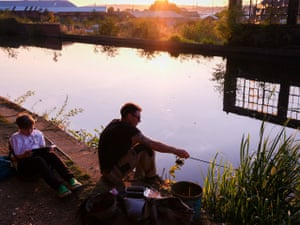 Anglers in Sheffield