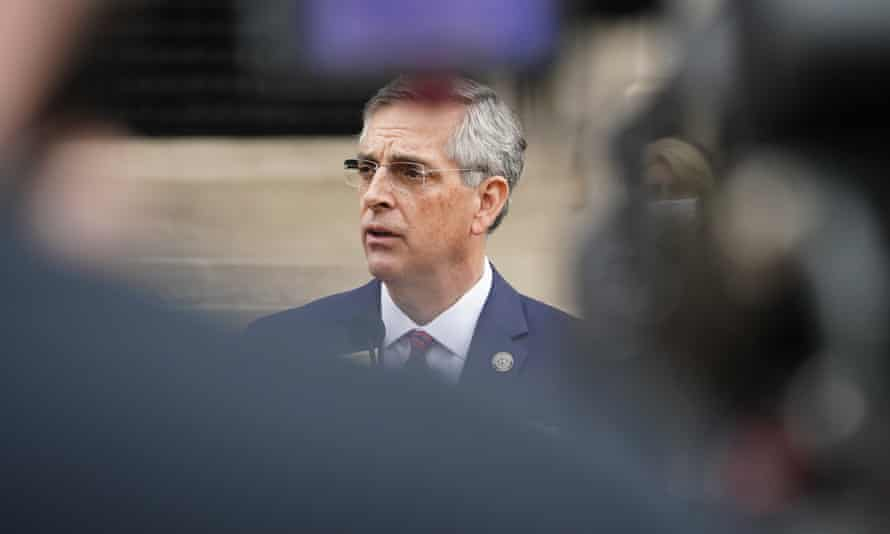 Brad Raffensperger, the Georgia secretary of state, and his family have received numerous threats. 'Vitriol and threats are an unfortunate, but expected, part of public service. But my family should be left alone.'