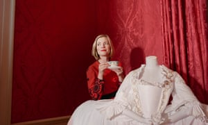 Historian Lucy Worsley photographed at Kensington Palace