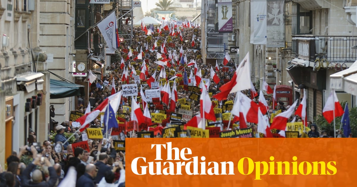 Malta's corruption is not just in the heart of government, it's the entire body | Alexander Clapp