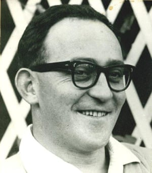 Denis Goldberg shortly before his arrest in 1963. He was imprisoned for 22 years.