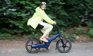 'Comfortable, fast and fun': Philippa Perry Tries out the GoCycle 3.