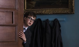 Shyly in love … Alex Lawther in Old Boys