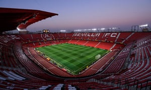 The Seville derby had been due to take place at the Sánchez Pizjuán on Sunday.
