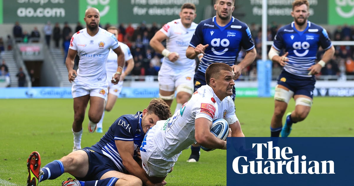 Henry Slade makes Sale pay as Exeter fight back for first win of the season