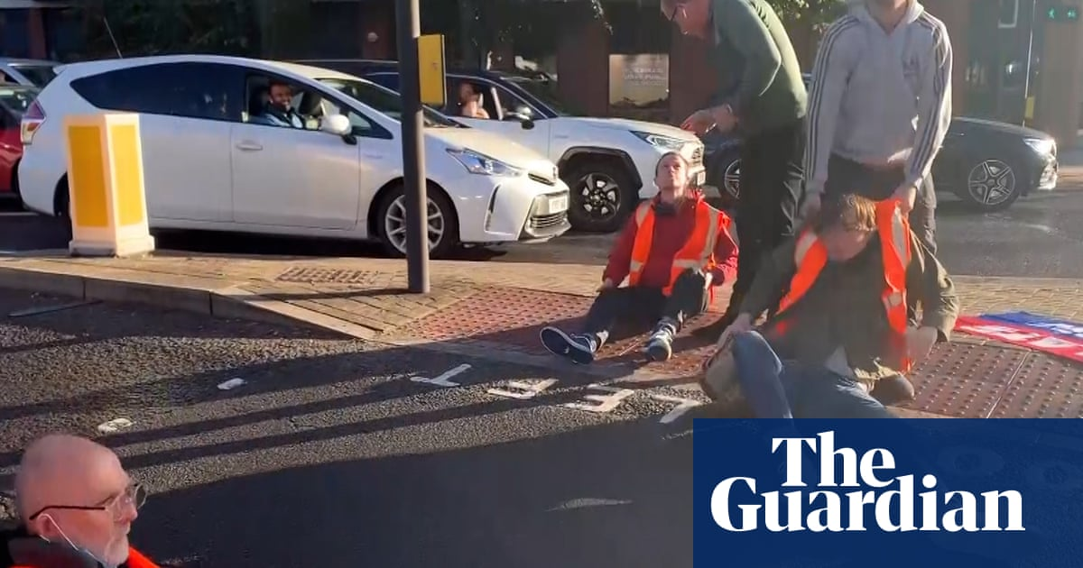 Drivers clash with Insulate Britain activists blocking three London roads