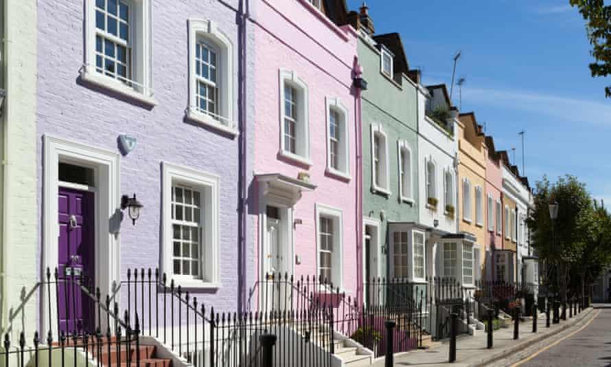 Terraced houses in Chelsea