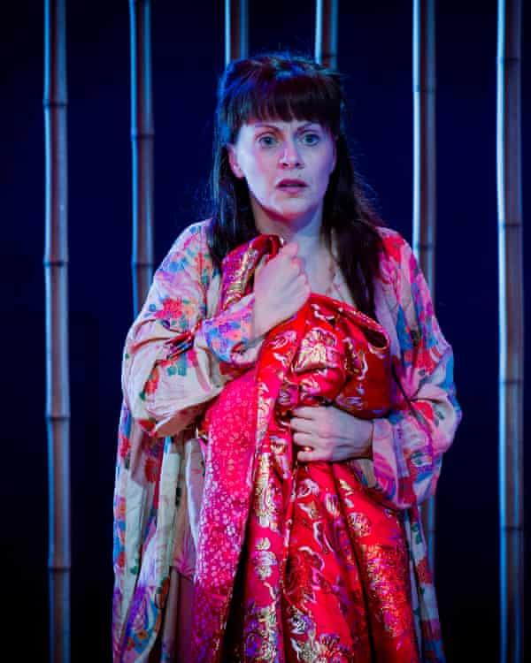 Anne Sophie Duprels as Iris in Mascagni's Iris at Opera Holland Park 2016.