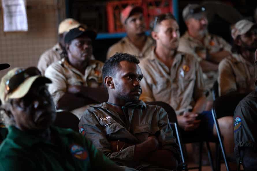Indigenous rangers from all over Arnhem Land meet at Maningrida