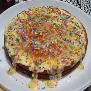 Natalie's funfetti cake.