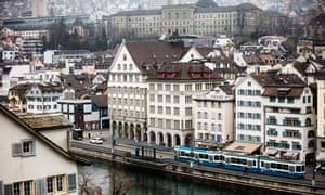 Windows on the world: the city centre, with a view of the Limmat River and the Old Town.