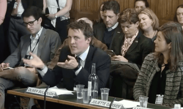 Oliver Bullough at the Foreign Affairs Committee in March 2018