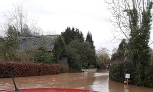 Flooding in Eardisland