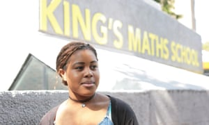Sixth-former Samantha Onyekwere