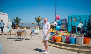 'People said Ramsgate was beautiful, they said it was out of this world' ... Dave, 77, in Margate