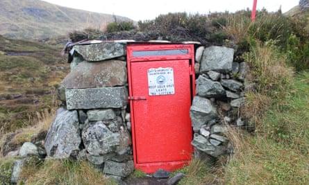 Davy's Bourach shelter, Jock's Road, Scotland