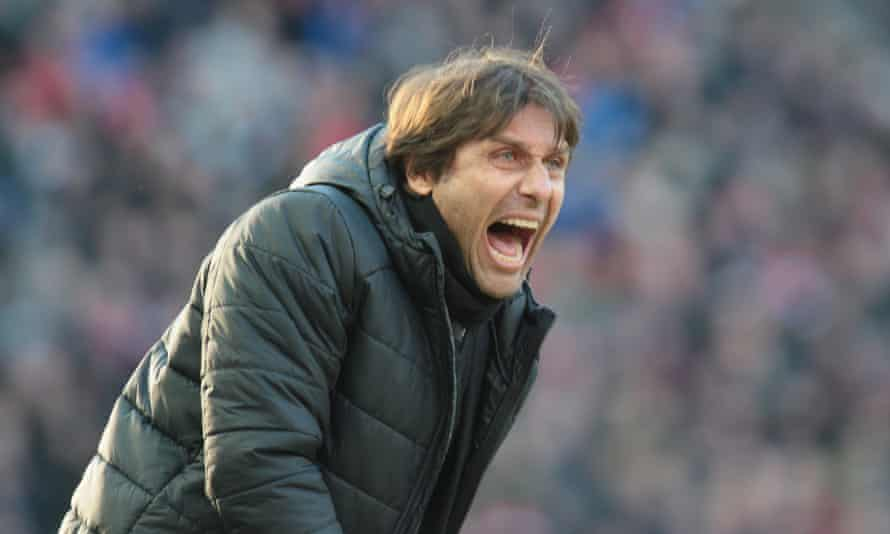 Antonio Conte coached Italy from 2014 to 2016 and his future at Chelsea is uncertain.