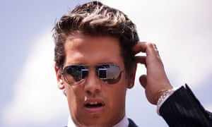 Milo Yiannopoulos: banned from speaking at his old school.